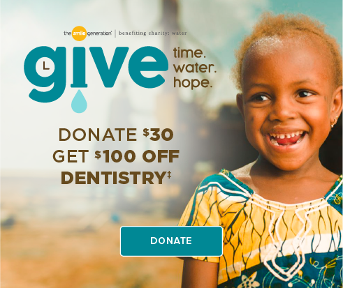 Donate $30, Get $100 Off Dentistry - Cheyenne Mountain Modern Dentistry and Orthodontics